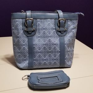 NWOT Croft & Barrow Purse with Matching ID Holder